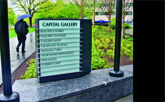 Directory Signs Interior and Exterior